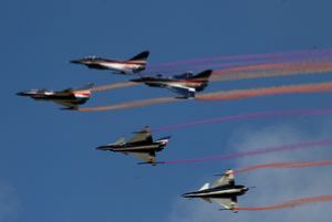J-10 fighters perform at Airshow China