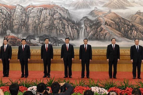 Xi Jinping addresses journalists