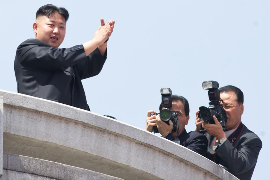 Kim Jong Un makes his first public speech