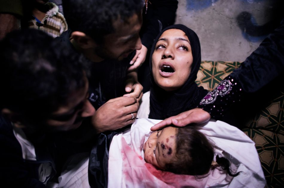10-year-old Palestinian girl killed in Israeli strike