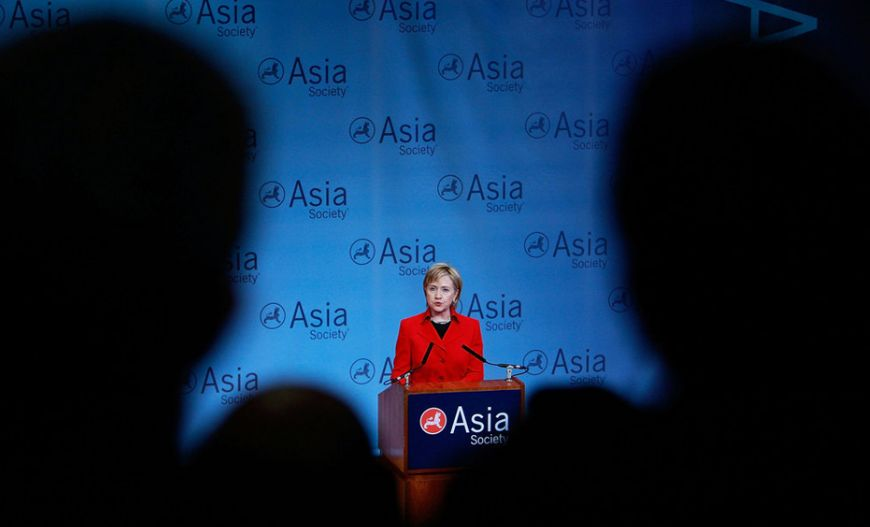 Addressing Asia forum in New York