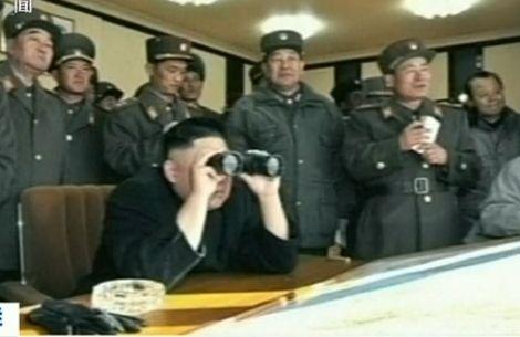 Kim Jong Un oversees live-fire drill