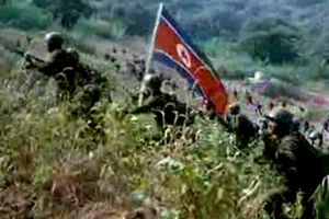 DPRK video depicts invasion of South, US hostages