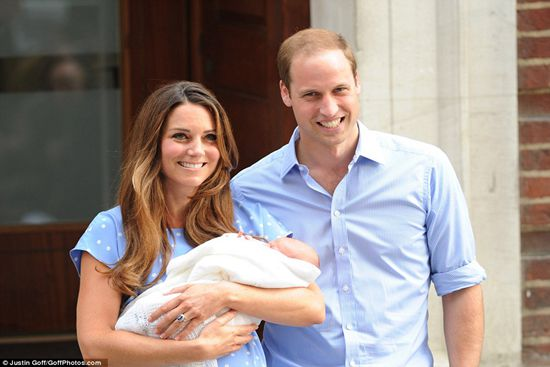 William, Kate and Baby Cambrige