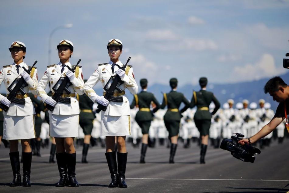 PLA, parade
